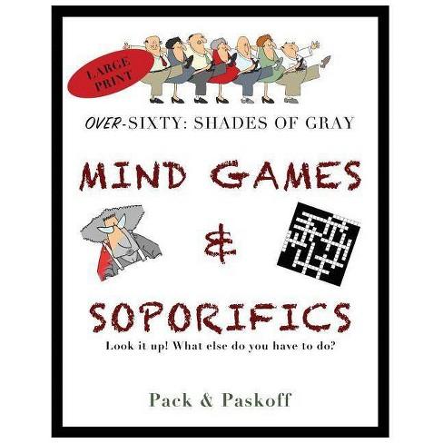 Mind Games & Soporifics - by  Carol Pack & Barbara Paskoff (Paperback) - image 1 of 1