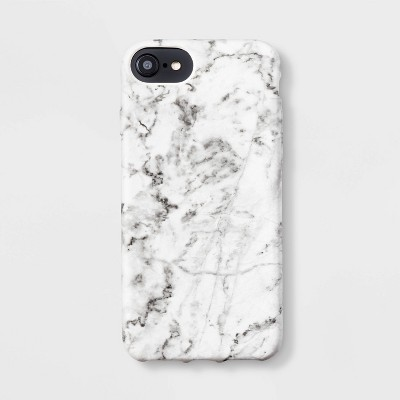 heyday™ Apple iPhone White Marble Phone Case