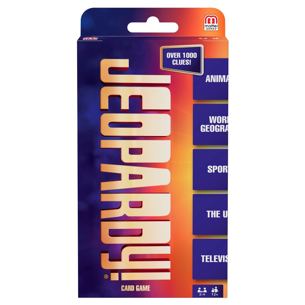 Jeopardy Card Game, Card Games