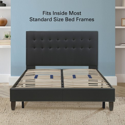 Platform Bed Frame Box Spring Replacement With Target