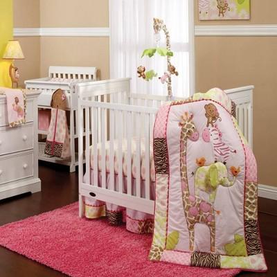 Carter's Jungle Collection Nursery Crib Bedding Set - 7pc