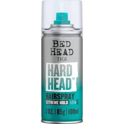 TIGI Bed Head Mini Hard Head Extreme Hold Hairspray - 3oz