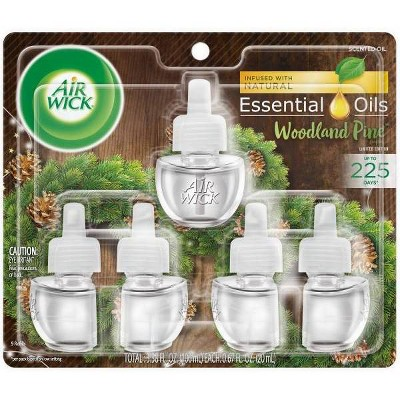 Air Wick Scented Oil   Woodland Pine Refill   (5x.67) Oz by Air Wick