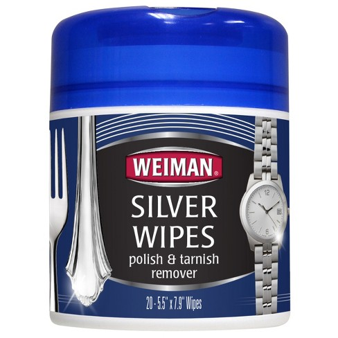 Weiman Silver Polish & Tarnish Remover Wipes - 20ct - image 1 of 1