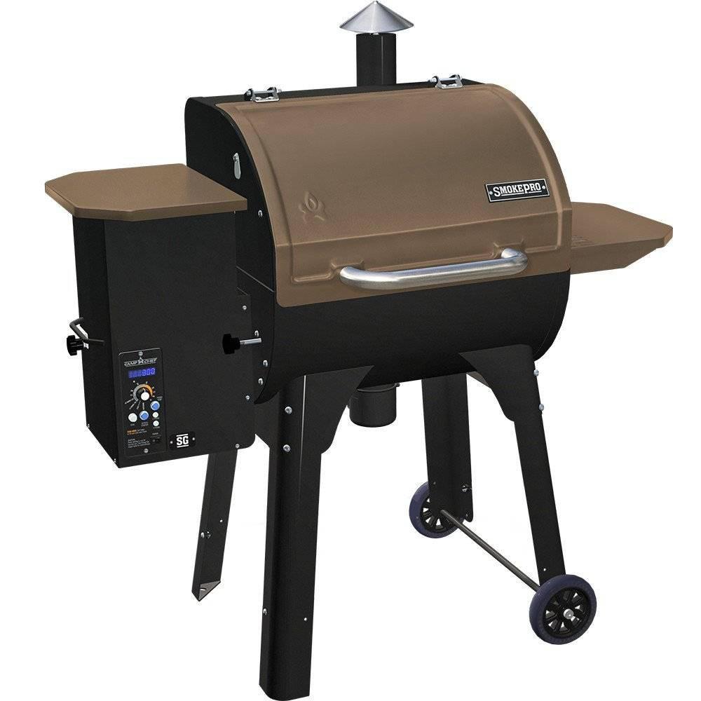 Camp Chef SmokePro SG Pellet Grill – Bronze, Golden Bronze 54459251