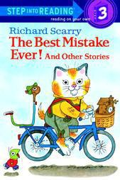 The Best Mistake Ever! - (Step Into Reading - Level 3 - Quality) by  Richard Scarry (Paperback)