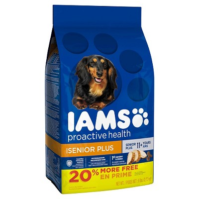Dog Food: Iams Proactive Health Senior Plus