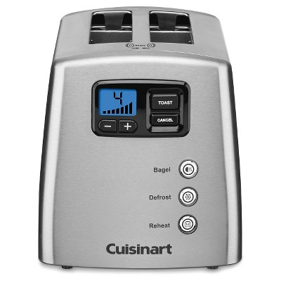 Cuisinart 2 Slice Motorized Countdown Leverless Toaster CPT-420