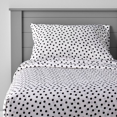 Dotted Microfiber Sheet Set - Pillowfort™