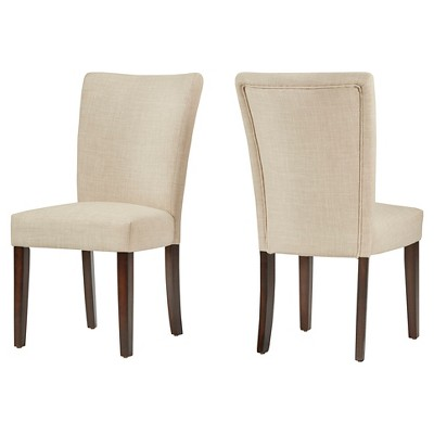 Set of 2 Quinby Side Dining Chair Oatmeal - Inspire Q