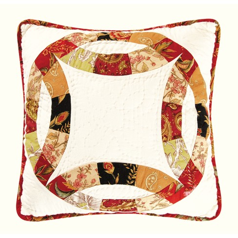 "C&F Home 14"" x 14"" Colleen's Wedding Ring Quilted Pillow - image 1 of 1"