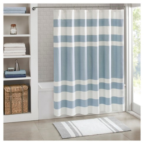 Spa Waffle Shower Curtain - image 1 of 4