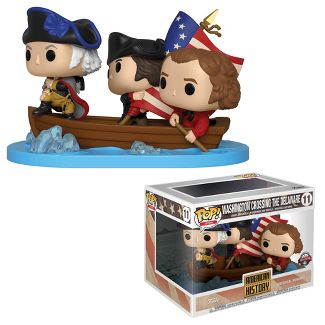 Funko POP! Icons: American History - Washington Crossing the Delaware (SDCC Debut)