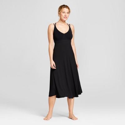 Women's Sleep Nightgown - Gilligan & O'Malley™ Black S