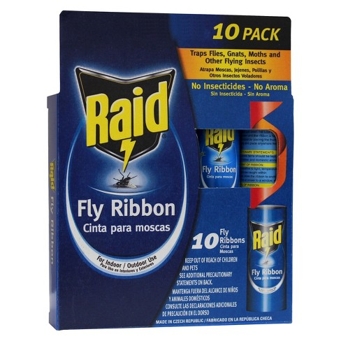 Rescue Fly Tape 3 Pack Free Ship Fly Strip Fly Trap Animal Health & Veterinary