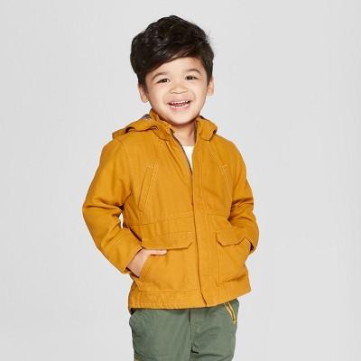 Genuine Kids® from Oshkosh Toddler Boys' Canvas Anorak Jacket - Gold 3T