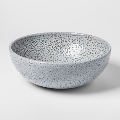 Decorative Earthenware Bowl - Grey/Black - Threshold™