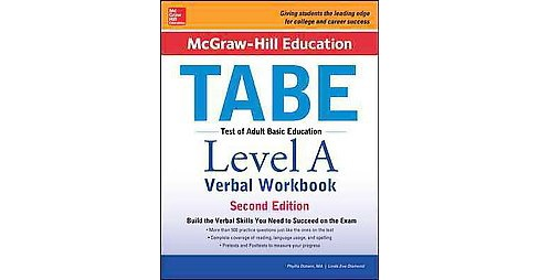McGraw-Hill Education TABE Level A Verbal (Workbook) (Paperback) (Phyllis Dutwin) - image 1 of 1