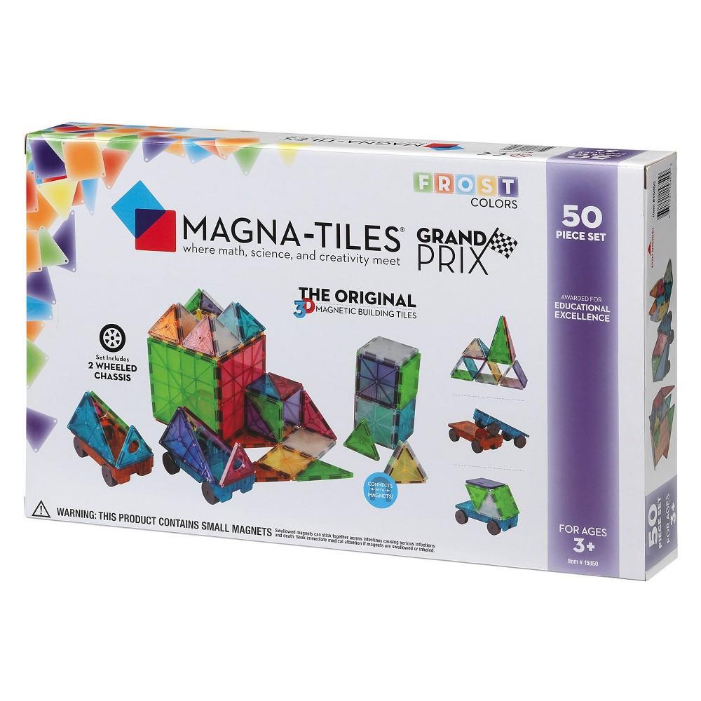 Magna-Tiles Frost 50pc Grand Prix Set