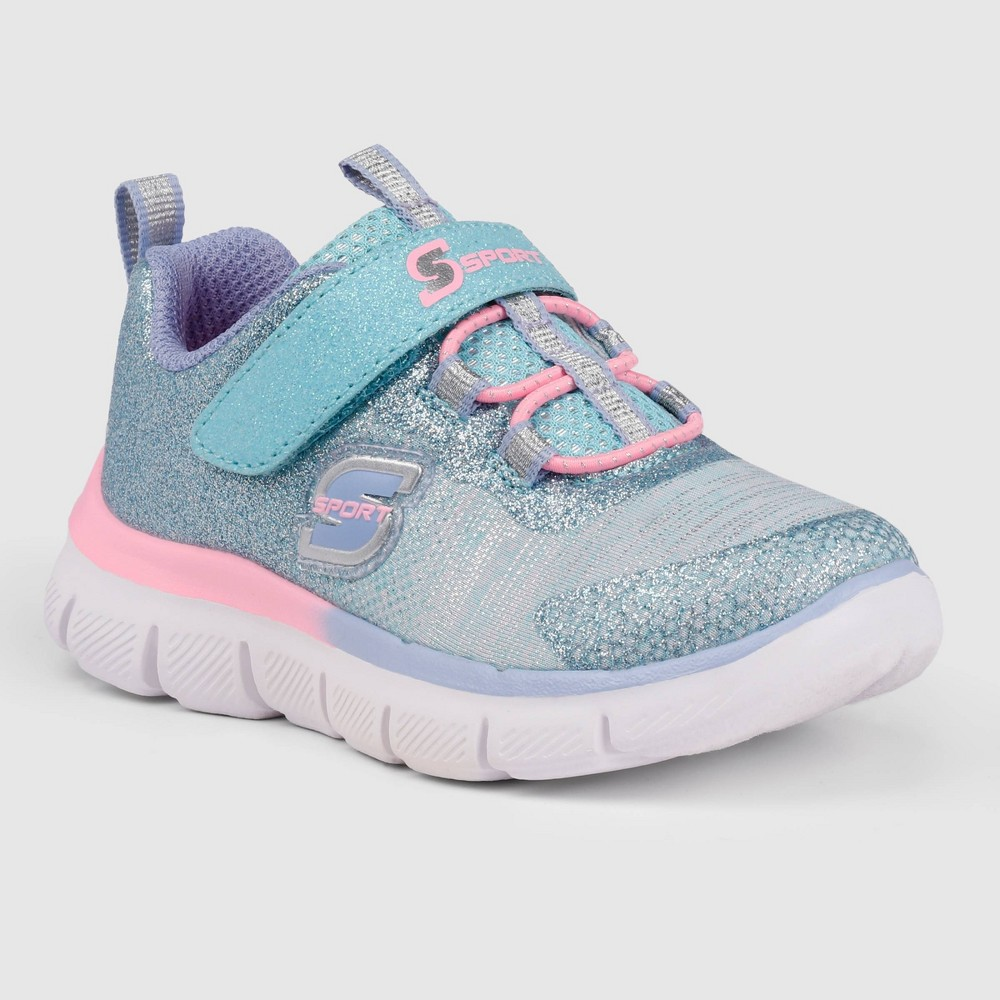 Toddler Girls 39 S Sport By Skechers Bethanie Apparel Sneakers Turquoise 10