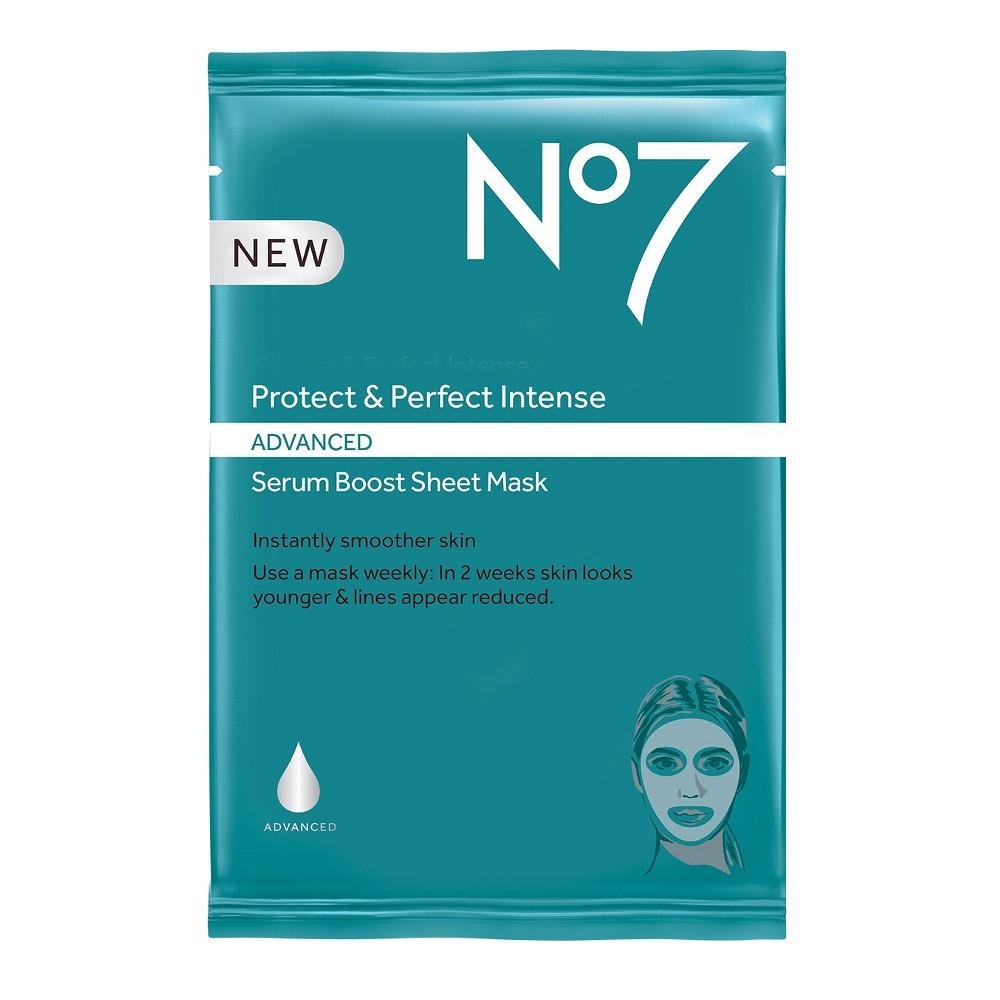 No7 Protect & Perfect Intense Advanced Serum Boost Sheet Mask - .73oz