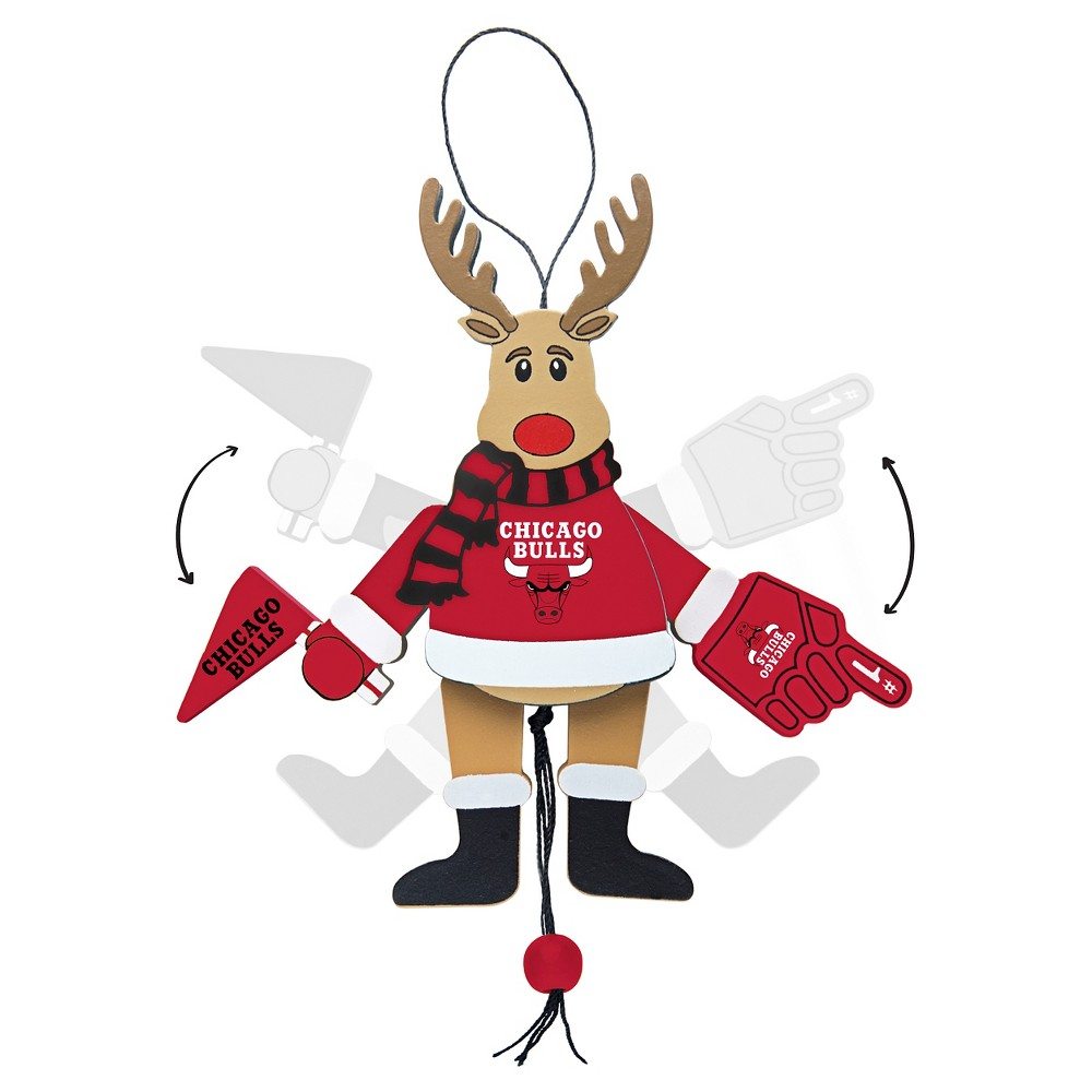 Chicago Bulls Topperscot Tree Ornament