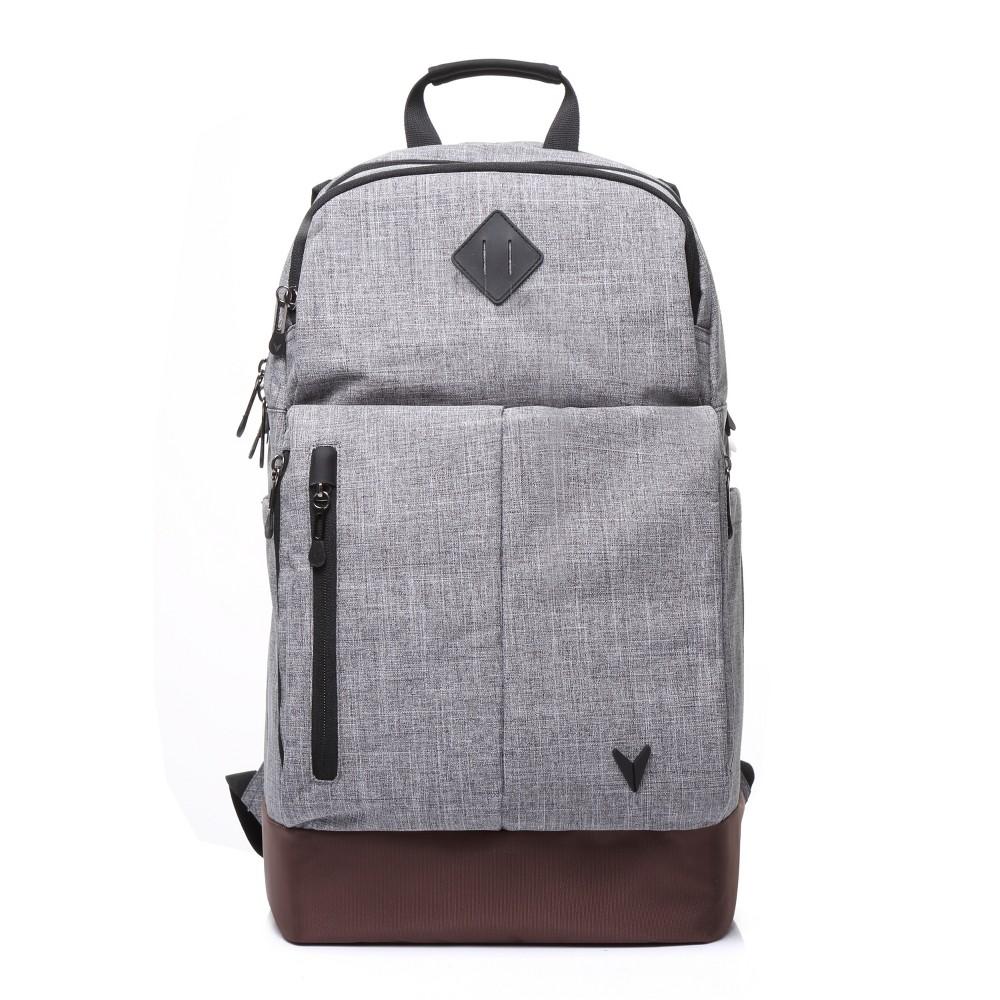 "Image of ""BONDKA 19.5"""" Jumpstreet Backpack - Heather Gray, Size: Large"""