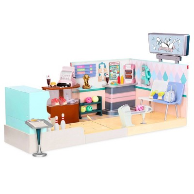 Our Generation Let It Roll - Retro Bowling Alley Set
