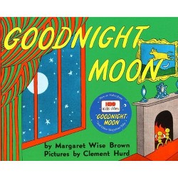 Goodnight Moon (Reissue) (Board Book) by Margaret Wise Brown