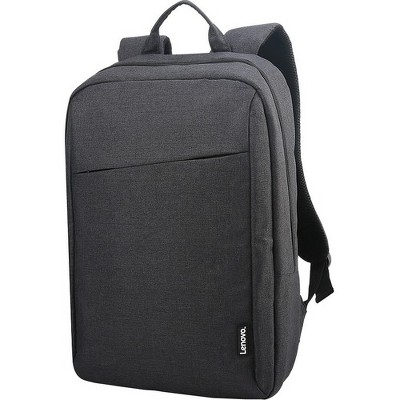 "Lenovo B210 Carrying Case (Backpack) for 15.6"" Notebook - Black - Water Resistant Interior - Polyester, Quilt Back Panel - Shoulder Strap, Handle"