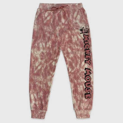 Women's Disney Minnie Mouse Jogger Pants - Pink - Disney Store