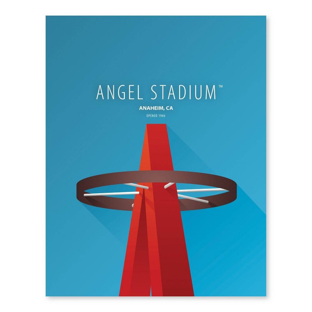 Mlb Los Angeles Angels Ballpark Canvas