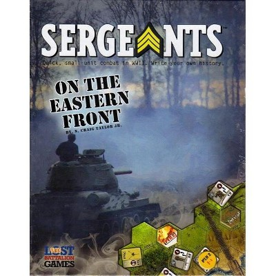 Sergeants! - On the Eastern Front (2nd Edition) Board Game