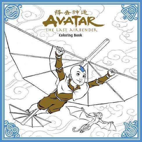 Avatar: The Last Airbender Coloring Book - (Paperback) - image 1 of 1