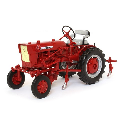 International Harvester Farmall Cub Tractor with Cultivator