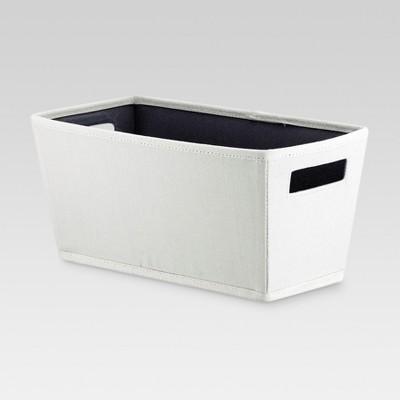 Fabric Quarter Bin - Sand - Threshold™