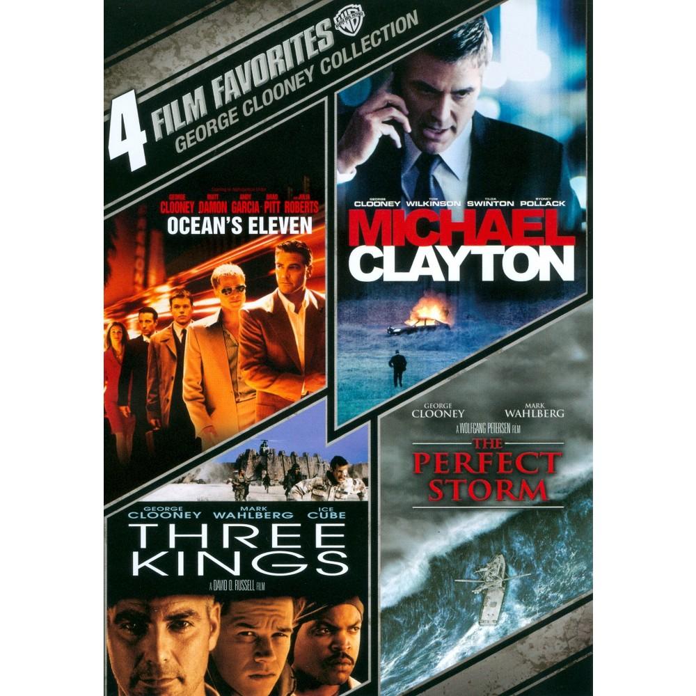 4 Film Favorites:George Clooney (Dvd)