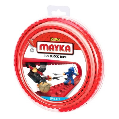 Zuru Mayka Construction Tape Standard Medium   Red by Mayka