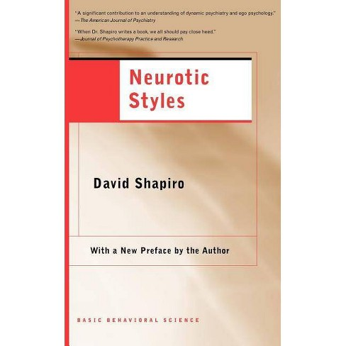 Neurotic Styles - by  David Shapiro (Paperback) - image 1 of 1