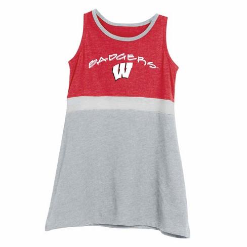 NCAA Infant Girl's Dress Wisconsin Badgers - image 1 of 3