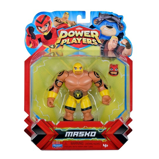 Power Players Masko Action Figure image number null
