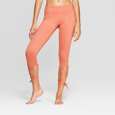 Women's Comfort Side Tie Mid-Rise Capri Leggings- JoyLab™ - image 1 of 4