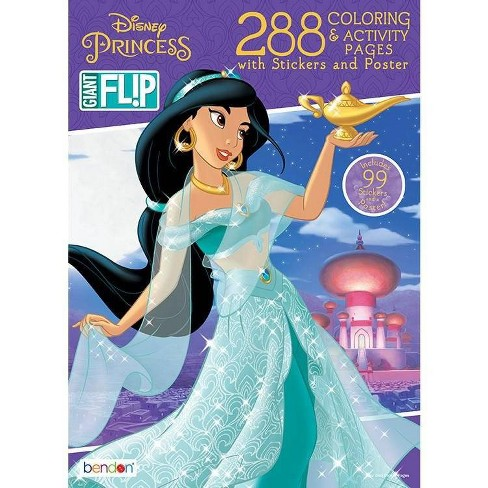 Disney Princess Coloring and Activity Flip Book - Target Exclusive Edition - image 1 of 3