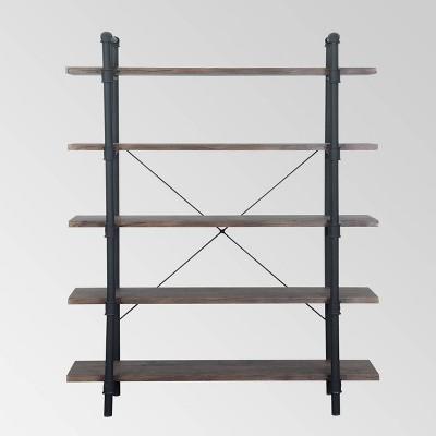 Kodiak Industrial 5 Tier Shelf - Christopher Knight Home