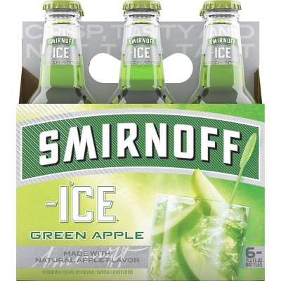 Smirnoff Ice Green Apple - 6pk/11.2 fl oz Bottles