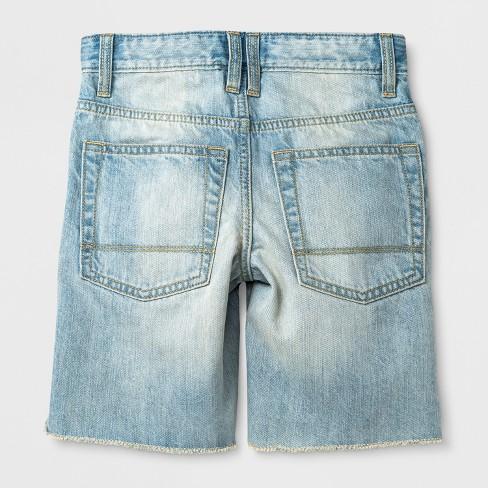 00f9c77647fb Boys' Jean Shorts - Cat & Jack™ Gray 18 Husky : Target