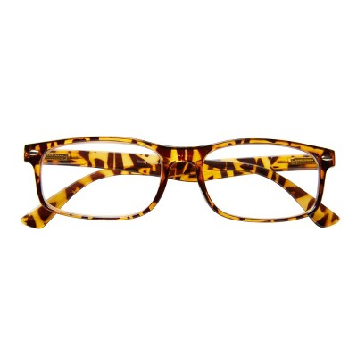 ICU Eyewear - Brentwood - Plastic Rectangle Tortoise