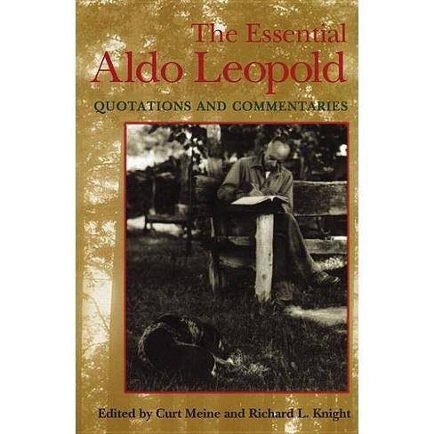 Essential Aldo Leopold - (Paperback) - image 1 of 1