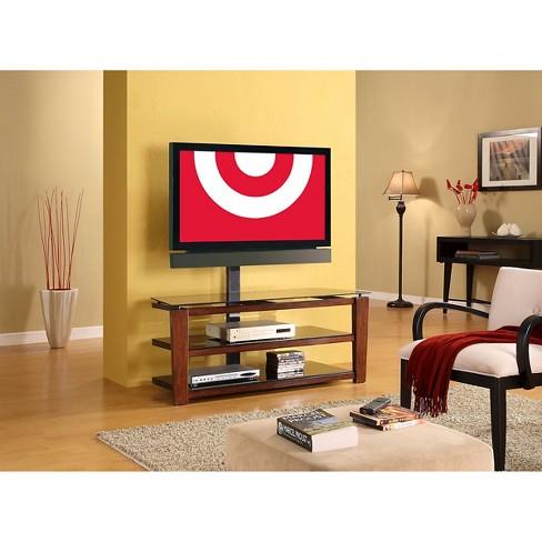 Sydney 3 In 1 Flat Panel Tv Stand Black 52 Whalen Target