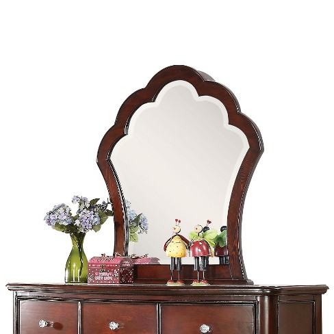 Cecilie Kids Dresser Mirror - Cherry - Acme - image 1 of 3